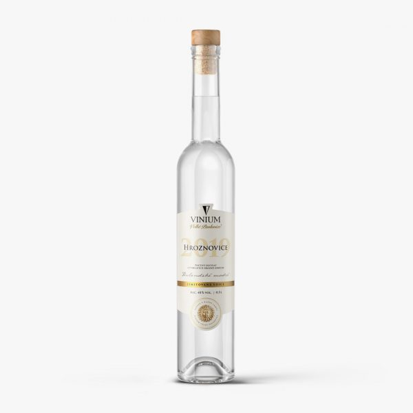 Hroznovice, VINIUM Velké Pavlovice, destilát, pálenka, Rulandské modré