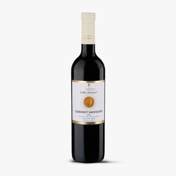 Cabernet Sauvignon pozdní sběr 2011, archivní víno, VINIUM Velké Pavlovice