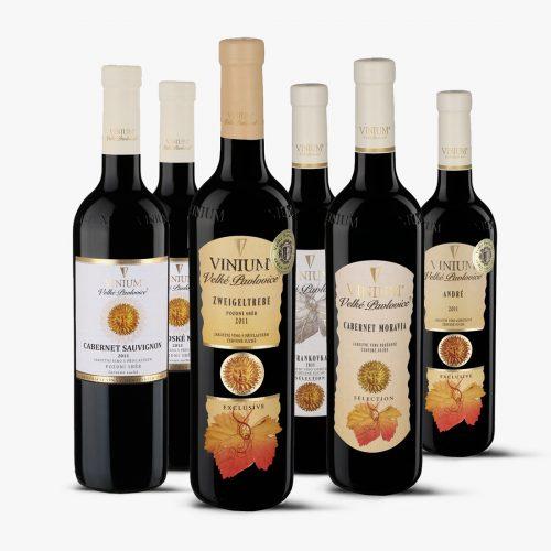MIX karton, archivní vína